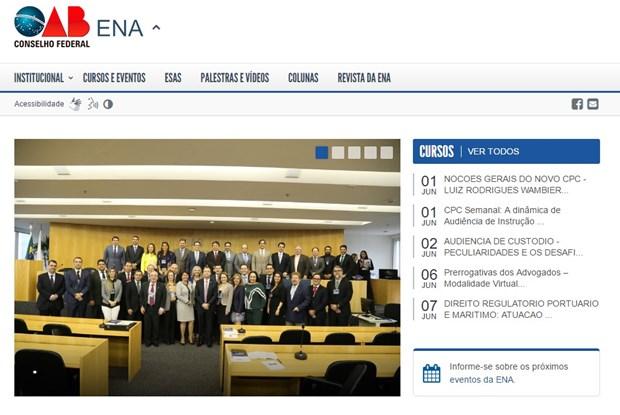 ENA estreia novo portal on-line com diversos recursos