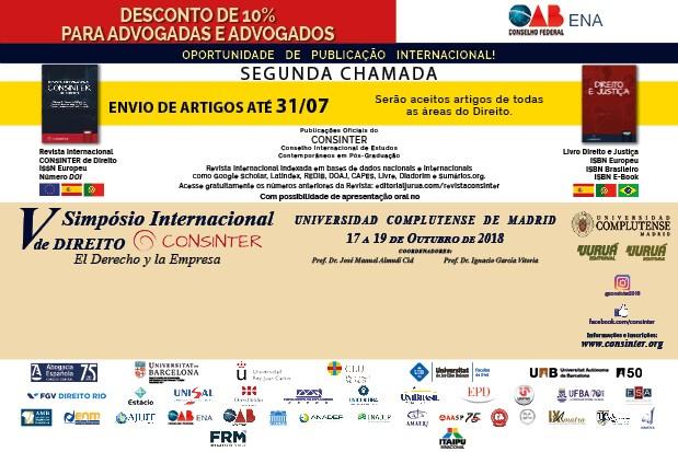 ENA abre inscrições com desconto para V Simpósio Internacional de Direito do Consinter