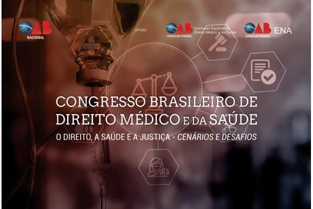 Congresso Brasileiro de Direito Médico e da Saúde: Divulgados artigos aprovados para publicação