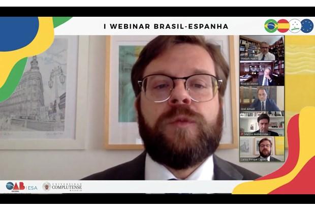 Webinar internacional debate direitos fundamentais no Brasil e na Espanha