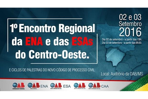 ENA e ESAs do Centro-Oeste se reunirão em Mato Grosso do Sul no mês de setembro