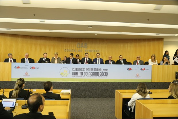 OAB sedia Congresso Internacional sobre Direito do Agronegócio com centenas de participantes