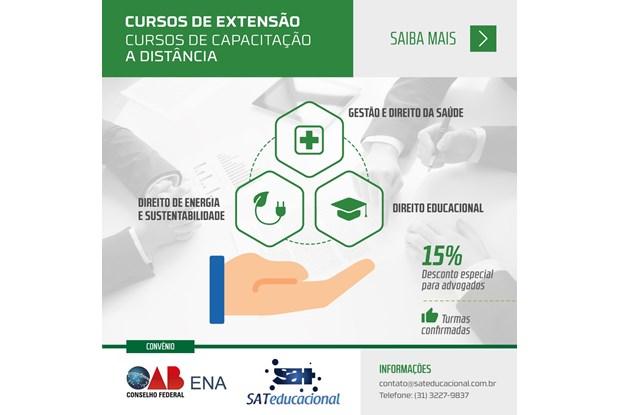 ENA abre inscrições para cursos de extensão e capacitação a distância
